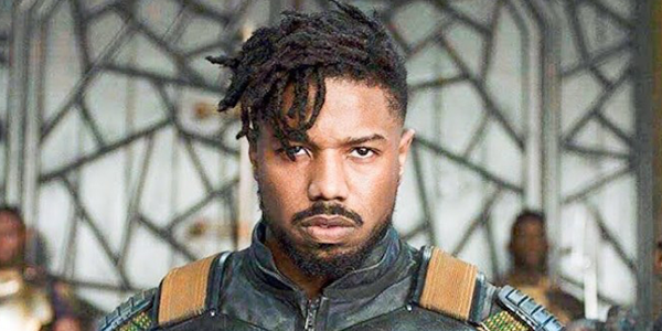 Michael B. Jordan as Erik Killmonger in Black Panther MCU Marvel