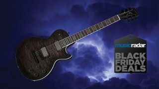 The Gibson Dark Knight Les Paul emerges from the shadows for Black Friday