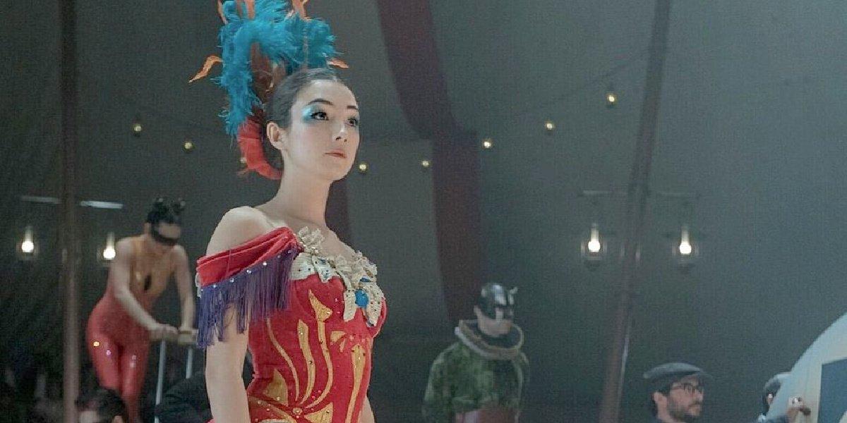 Natasha Liu Bordizzo in The Greatest Showman.