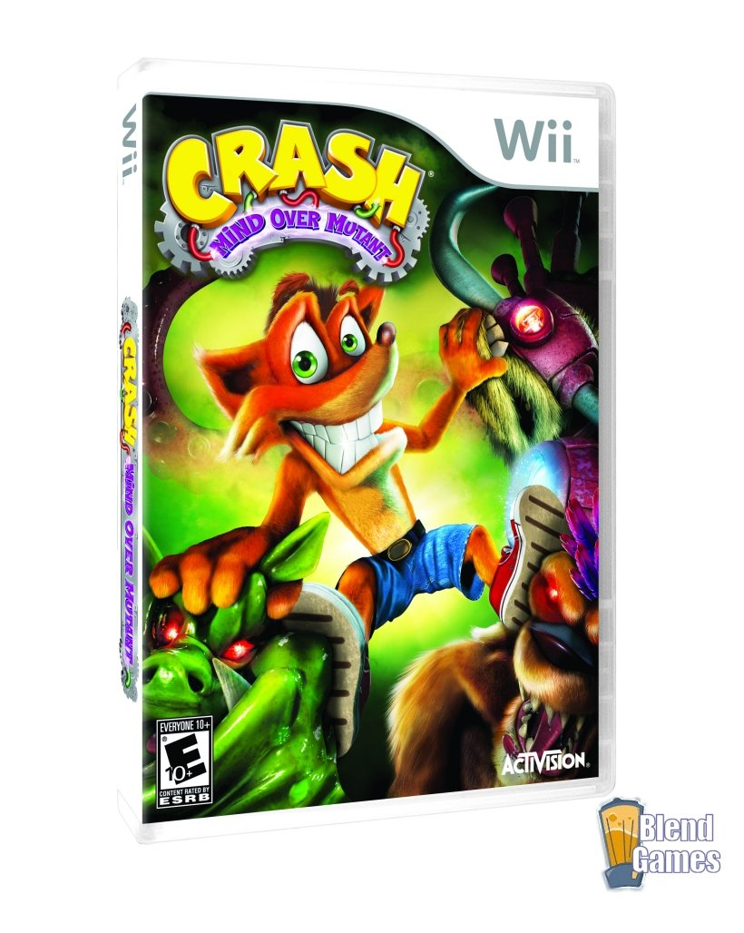 Crash Bandicoot: Mind Over Mutant Now Available For Xbox 360, Wii #3868