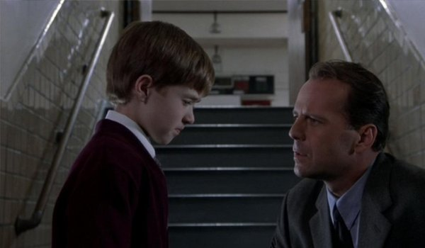 The Sixth Sense Haley Joel Osment and Bruce Willis