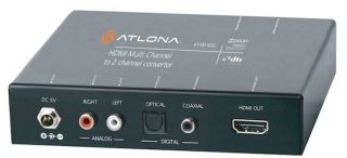 Atlona Now Shipping New AT-HD-M2C Audio Converter