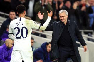 Jose Mourinho and Dele Alli File Photo