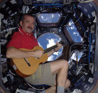 Space Station Hadfield Christmas Carols
