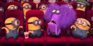 The Minions in an AMC theater