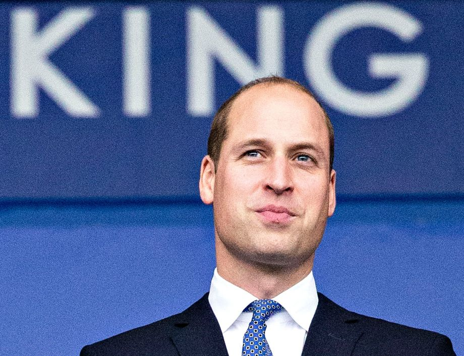 Prince William had a secret meeting with this national treasure last week