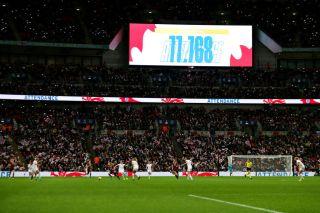 Wembley biggest attendances in women's football