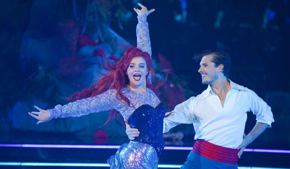 dancing with the stars lauren alaina gleb Savchenko disney night abc