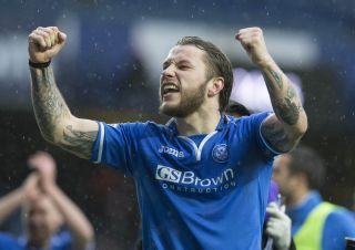 Soccer – William Hill Scottish Cup – Semi Final – St Johnstone v Aberdeen – Ibrox Stadium