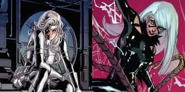 Silver and Black in the comics