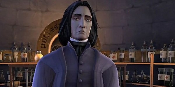 Snape looking serious Hogwarts Mystery