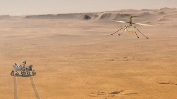 How to watch the livestream of NASA's Mars drone take-off