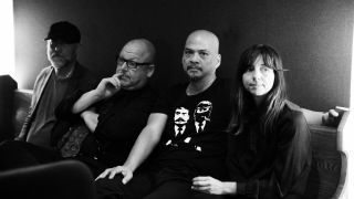A promotional picture of the Pixies in 2016