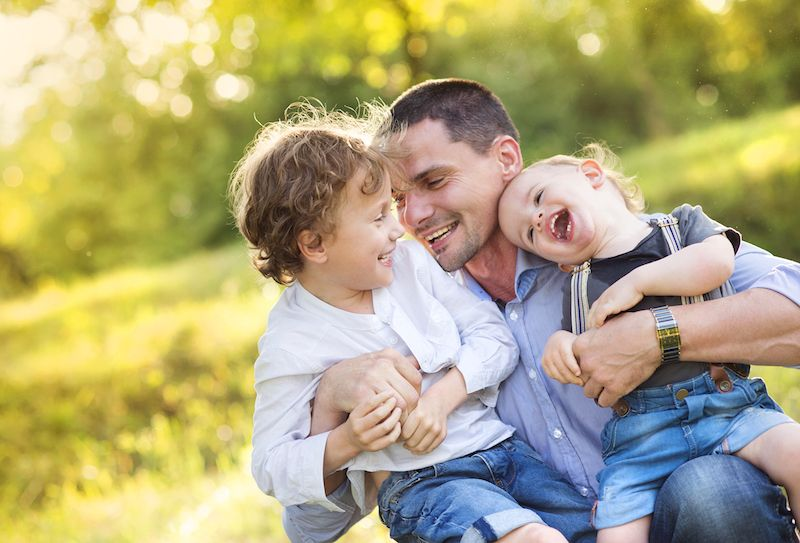 'Love Hormone' May Help Dads Bond with Toddlers