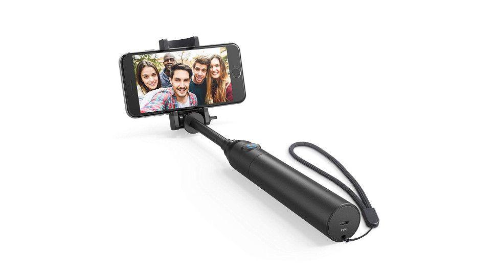 2019 Upgraded Version of Automatic Telescopic Selfie Stick Bluetooth Selfie Stick Mobile Phone Digital Camera Selfie Stick Black One-Button Automatic Telescopic Selfie Stick