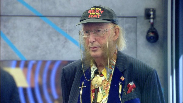 John McCririck is back in the Big Brother house