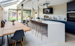 A side-return extension is the ideal way to increase space and light in a terraced house