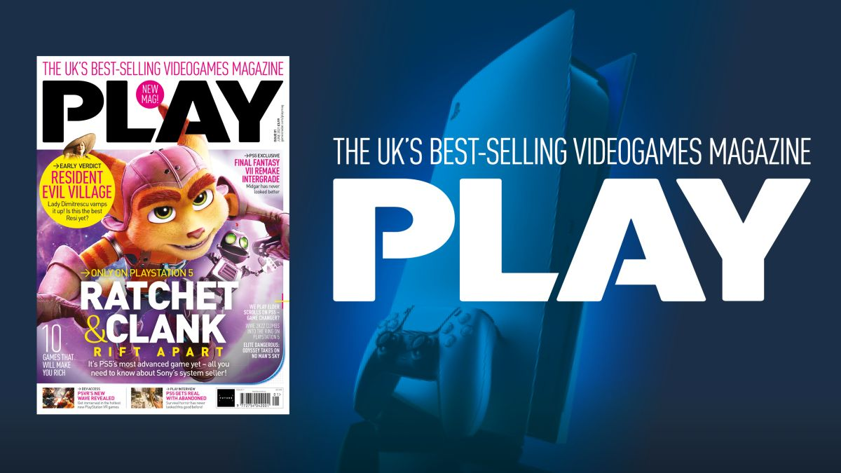 Welcome to PLAY: your new PlayStation magazine!