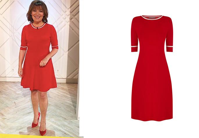 Lorraine Kelly s High Street Dresses - from Hobbs to Zara c07aa7613