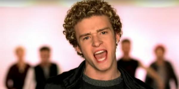 Justin Timberlake in 'NSYNC