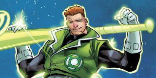 Guy Gardner is a Green Lantern Corps member