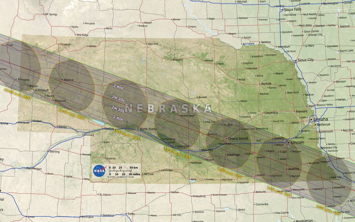 Where to See the 2017 Total Solar Eclipse, State by State