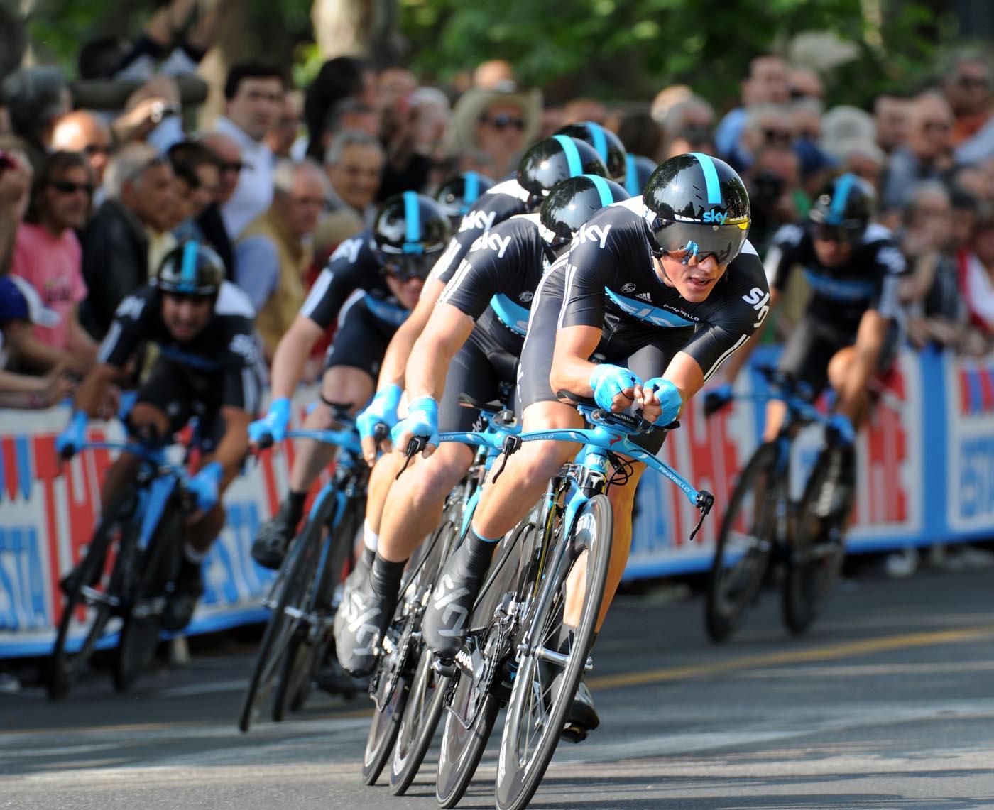 Team Sky, Giro d