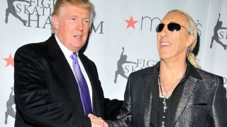 Donald Trump and Dee Snider in 2012