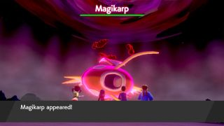 Pokemon Sword and Shield April Fools Day Magikarp raid