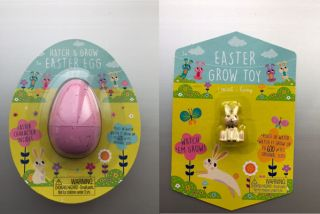 Image of Easter egg toys involved in Target's recall.