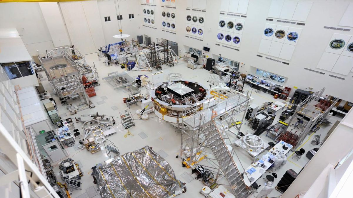 Mars 2020 Rover Assembled and Tested Ahead of Launch Next Year