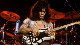 Eddie Van Halen performing in 1978