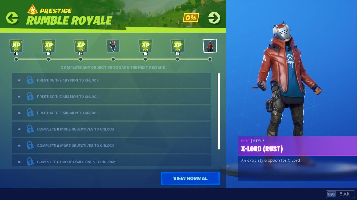 Fortnite Rumble Royale missions: every challenge and reward | PC Gamer