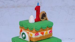 Animal Crossing New Horizons anniversary cake remade IRL