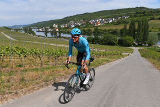 LUXEMBOURG LUXEMBOURG MAY 09 Pro cyclist Jacob Fuglsang of Denmark and Team Astana trains in isolation during Covid19 lockdown on May 09 2020 in Luxembourg Luxembourg Photo by Tim de WaeleGetty Images