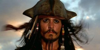 Johnny Depp as Capt. Jack Sparrow in Pirates of the Caribbean: The Curse of the Black Pearl
