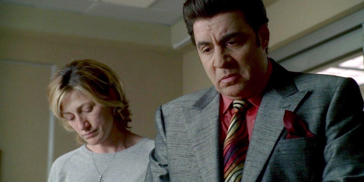 Silvio in The Sopranos.