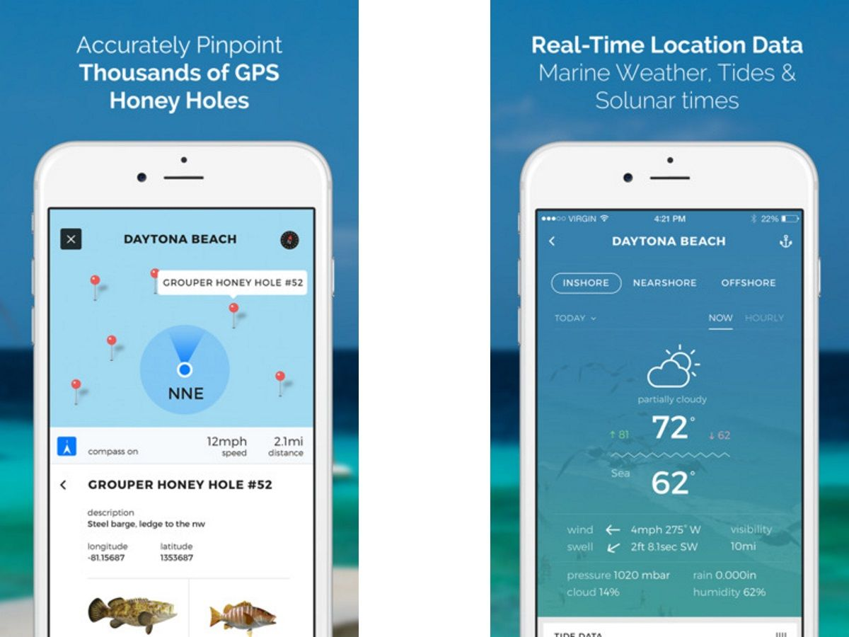 Best Fishing Apps 2019 - Maps, GPS Locations & Weather for iOS