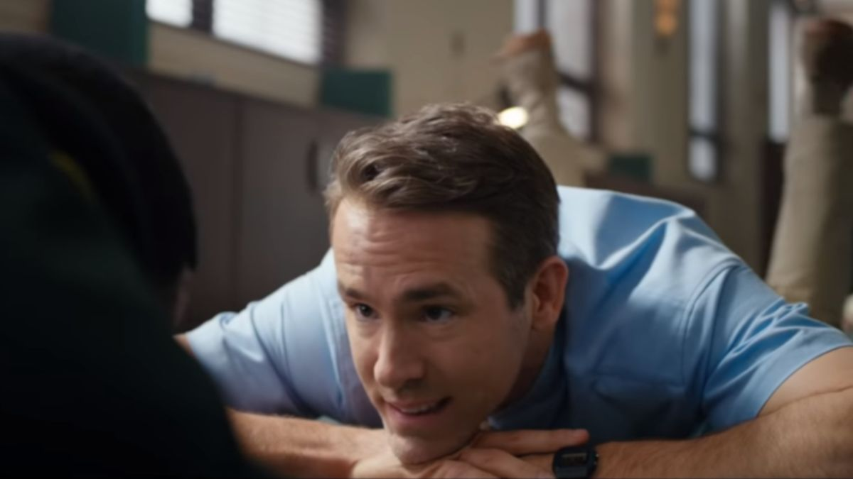 Free Guy stars Ryan Reynolds as a random NPC in a video game