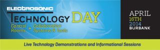 Electrosonic's Technology Days Event Scheduled