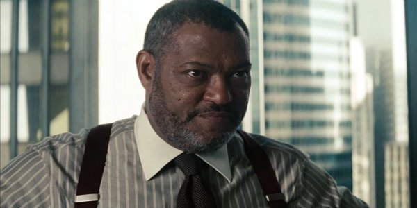 Laurence Fishburne perry White Man of Steel