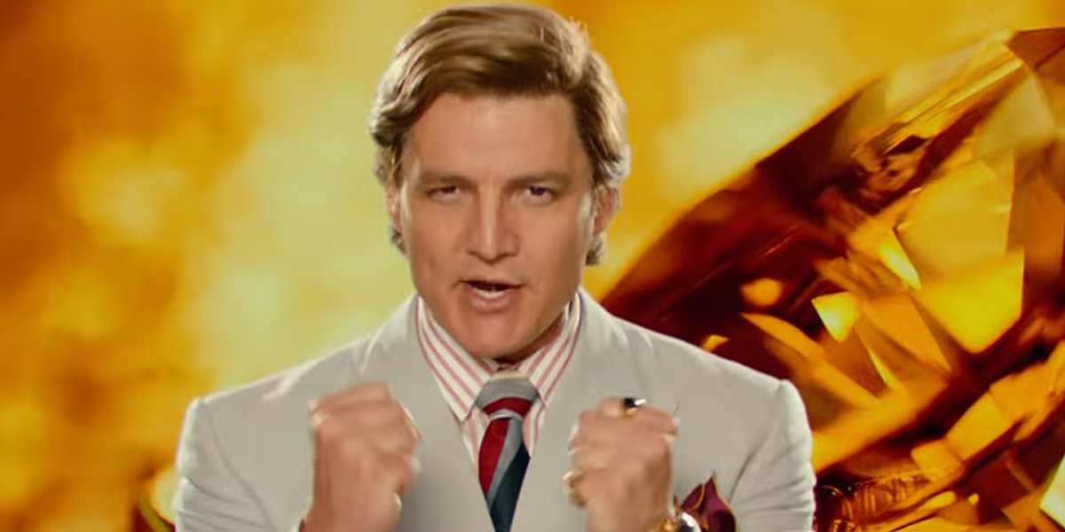 Actor Pedro Pascal as Max Lord in Wonder Woman 1984 trailer