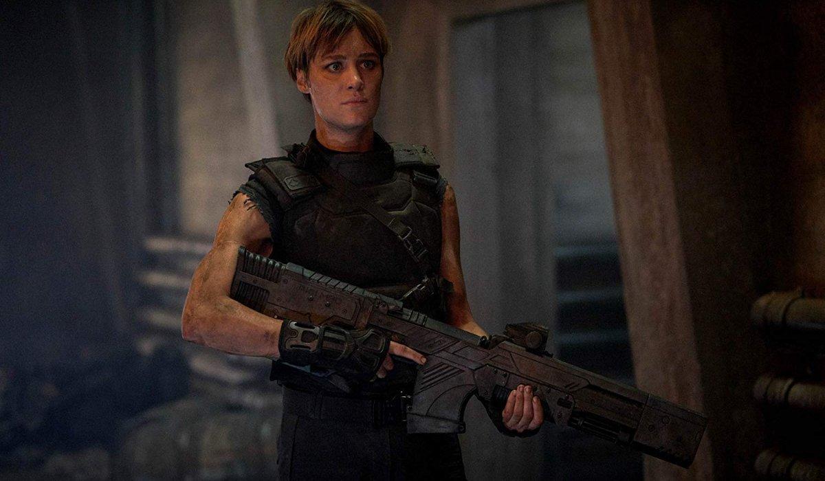 Terminator: Dark Fate Grace armed in 2042
