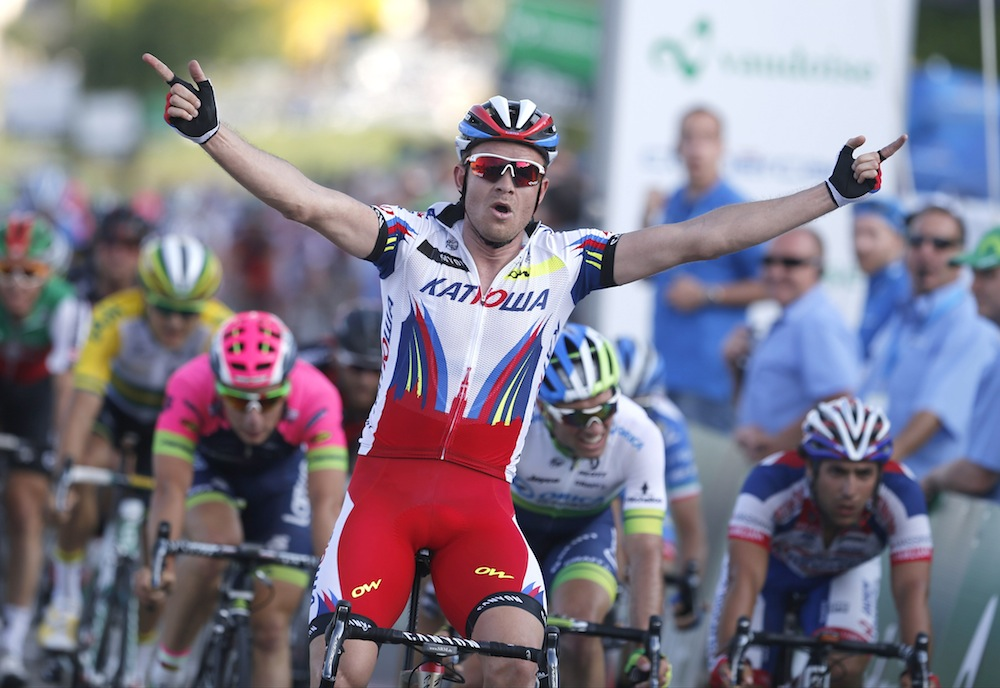 Alexander Kristoff wins the 2015 Tour of Aargau-Gippingen