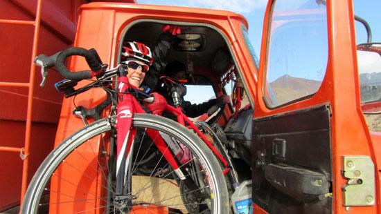 Penny Comins Himalaya ride 2011