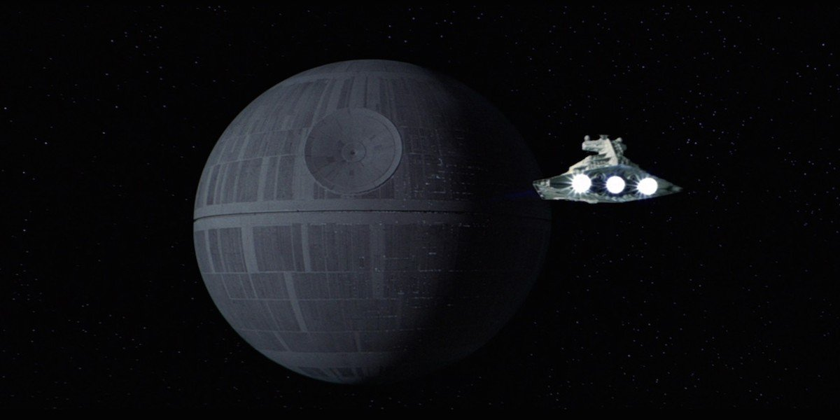 Death Star in Star Wars: A New Hope