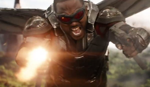 Falcon Anthony Mackie Infinity War