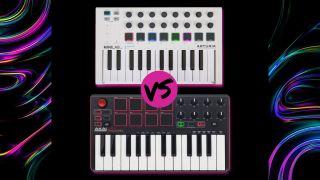 Akai MPK Mini Mk2 vs Arturia MiniLab MkII: which budget MIDI controller keyboard is best?