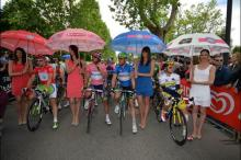 The leader's jerseys at the Giro d'Italia