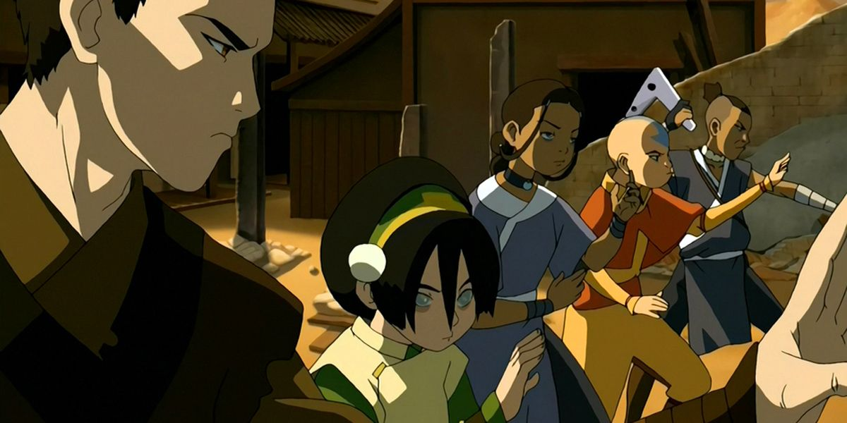 Many of the Avatar characters in one setting.